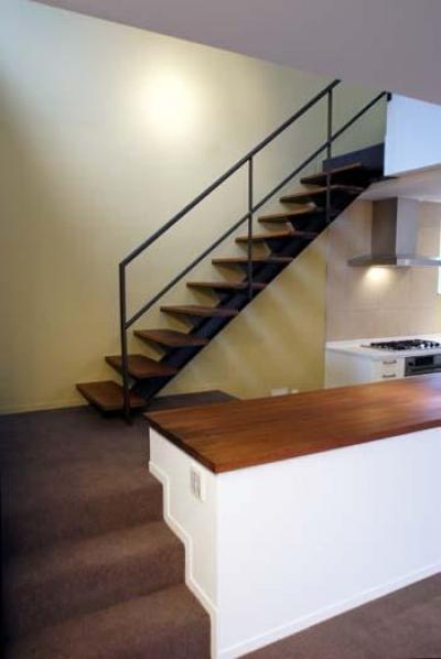 2階マルチスペース・スタディースペース (『house-sgs』3階建ての二世帯住宅)