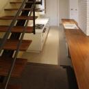 『house-sgs』3階建ての二世帯住宅