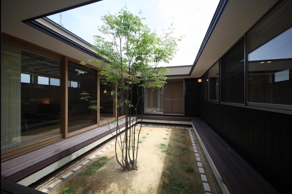 青木昌則建築研究所「平屋のコートハウス」