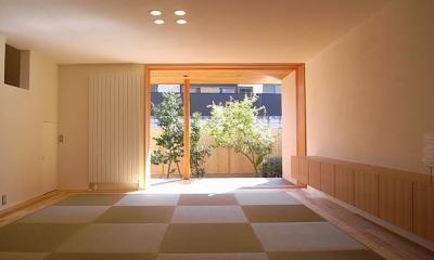 『小柴見の家』伸びやかに暮らせる和みの家