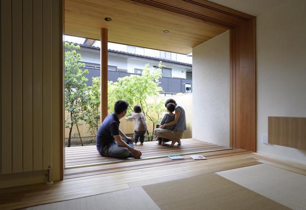 建築家:広瀬 毅「『小柴見の家』伸びやかに暮らせる和みの家」
