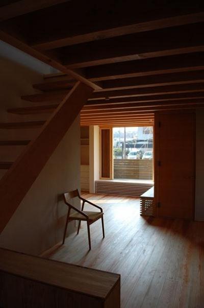 長森の家 (木の温もり溢れるリビング)