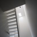 調布の家の写真 階段 2