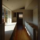 長森の家の写真 柔らかな光が溢れるホール