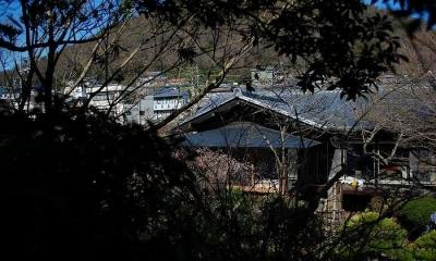 美しい庭のある家外観-3|岩田坂の増築