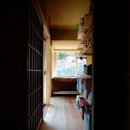 岩田坂の増築 (寝室につながる廊下)