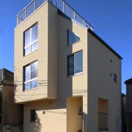 屋上のある住宅