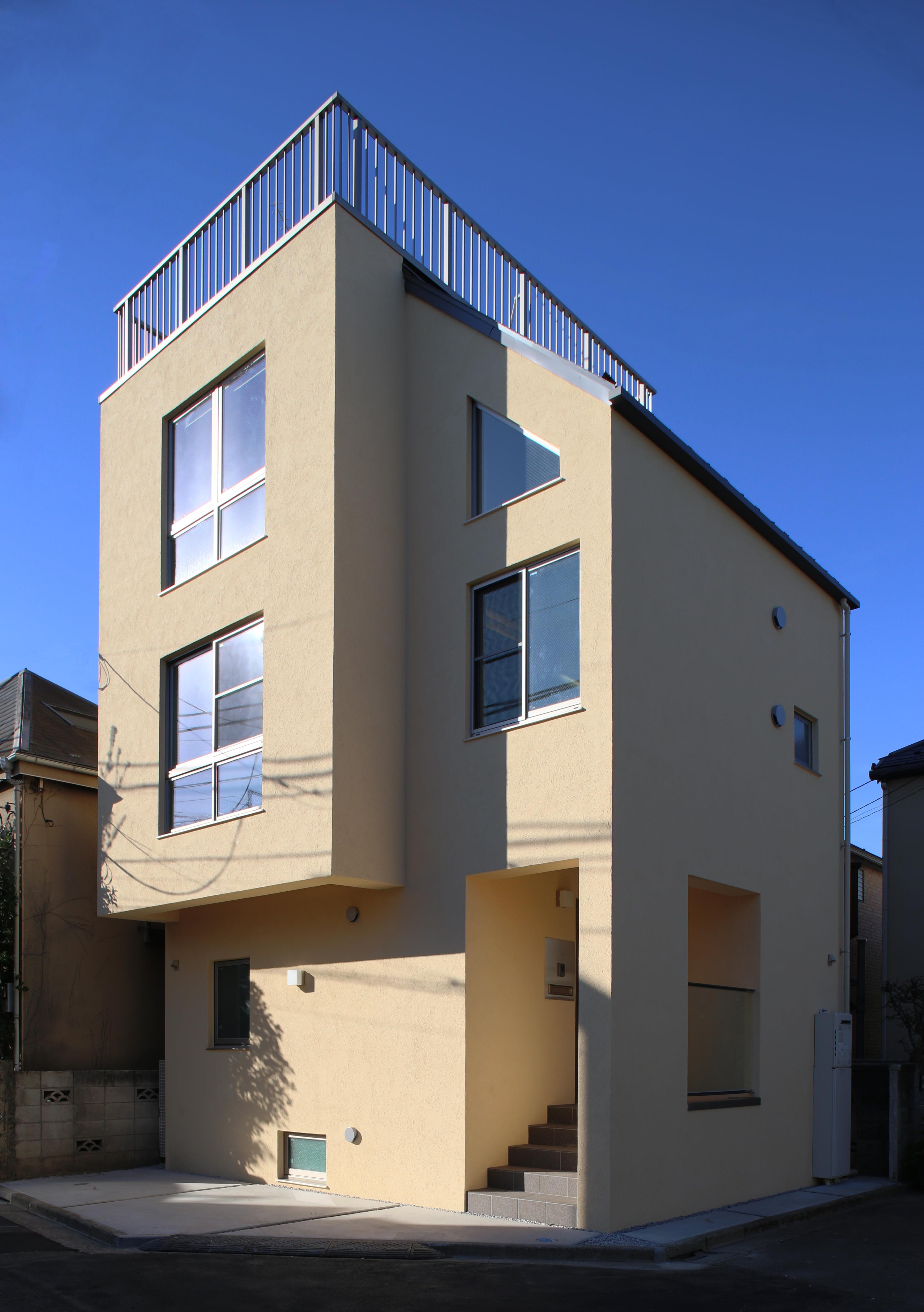 東京都大田区Y邸の写真 屋上のある住宅