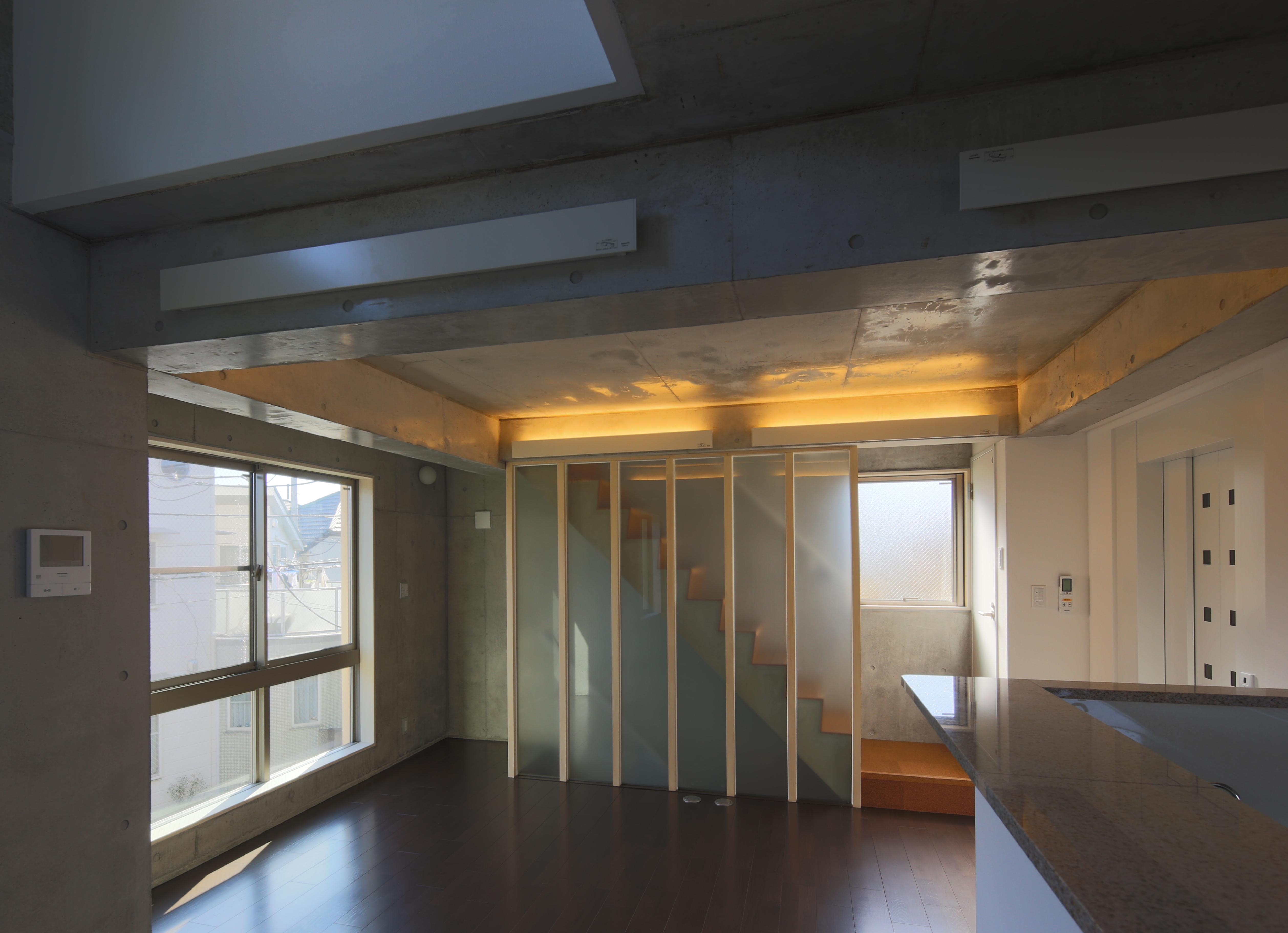 東京都大田区Y邸の部屋 光が差し込む明るいリビング