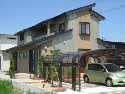 Y邸新築住宅 (外観 南西より)