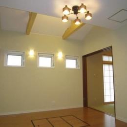 Y邸新築住宅 (1階リビング)