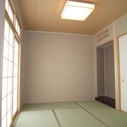 内観 和室 (Y邸新築住宅)
