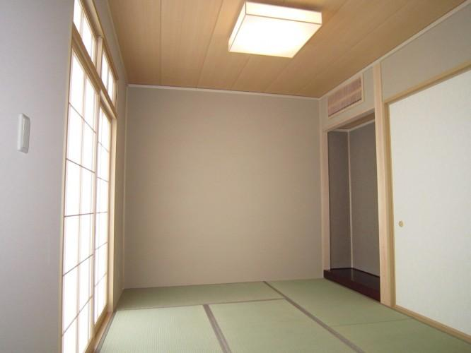 Y邸新築住宅の部屋 内観 和室