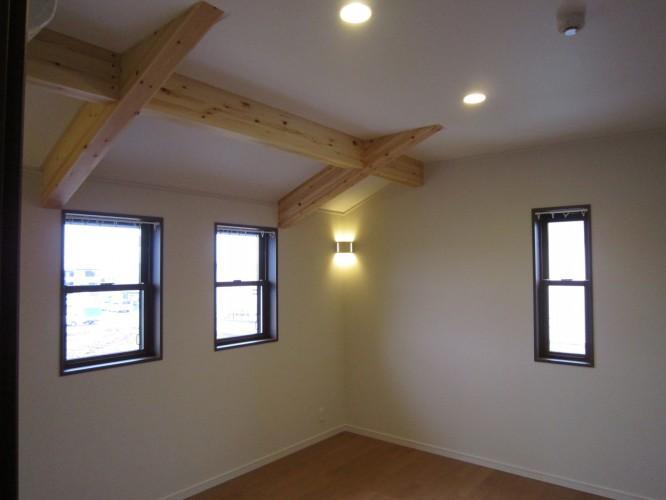 Y邸新築住宅の部屋 内観 2階寝室