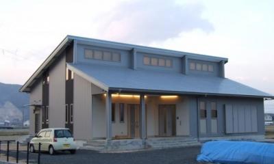 WAはうす新築住宅兼地域交流施設 (外観)