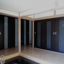 M邸耐震・エコリフォーム改修の写真 玄関~廊下(改修後内観)