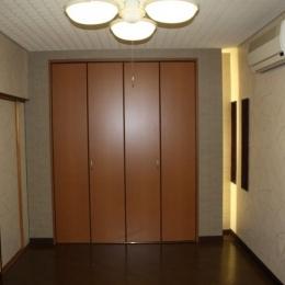 N邸エコリフォーム改修 (寝室の演出)