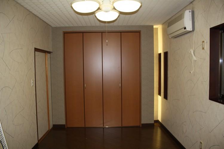 N邸エコリフォーム改修の部屋 寝室の演出