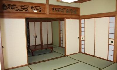 N邸エコリフォーム改修 (和室修繕)