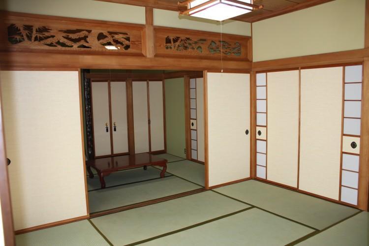N邸エコリフォーム改修の部屋 和室修繕