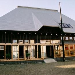 『弘前の家』明るく風通しのよい住まいへ (大屋根の家-外観)