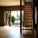 平川 徹の住宅事例「『高丘の家』アーチ状のゲートがつくる住み心地のよい家」