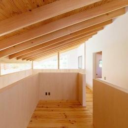 『コヤナカハウス』半屋外空間のドマがある家 (2階フリースペース)