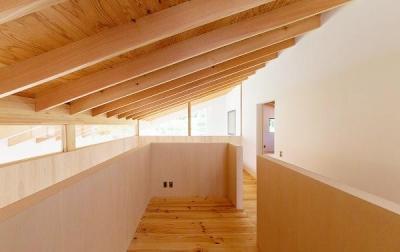 2階フリースペース (『コヤナカハウス』半屋外空間のドマがある家)