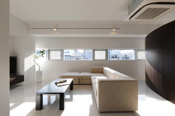 建築家:寺下 浩「岐阜市T邸・シンプルモダン住宅へ全面リフォーム」