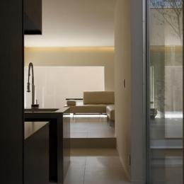 名古屋市Y邸・高級感と重層感を併せもつコートハウス住宅