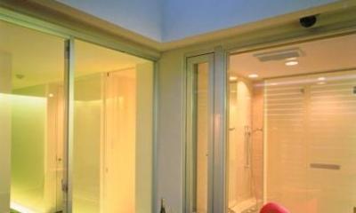 名古屋市N邸・リゾートホテル感覚の日常空間 (3階プライベートテラス)