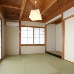 N邸・伝統と現代の生活の調和を目指した邸宅 (和室)