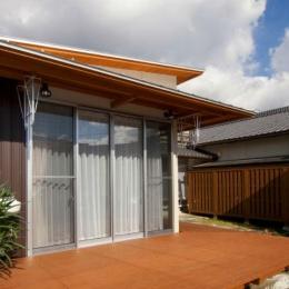 増築した新婚夫妻の生活空間-1 (KO邸・二世帯住宅へ増築リフォーム)