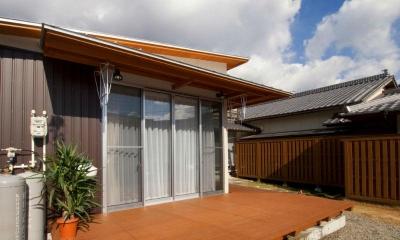 KO邸・二世帯住宅へ増築リフォーム (増築した新婚夫妻の生活空間-1)
