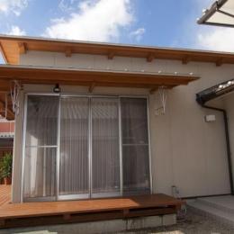 KO邸・二世帯住宅へ増築リフォーム (増築した新婚夫妻の生活空間-2)