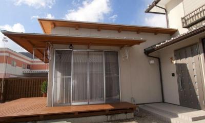 増築した新婚夫妻の生活空間-2 (KO邸・二世帯住宅へ増築リフォーム)