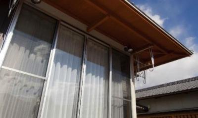 KO邸・二世帯住宅へ増築リフォーム (開放的なデッキ)