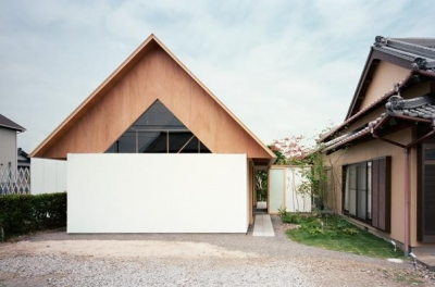 『コヤノスミカ』趣味を楽しめる空間、ゆったり寛げる空間 (コヤノスミカ-外観)