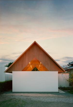 『コヤノスミカ』趣味を楽しめる空間、ゆったり寛げる空間の部屋 コヤノスミカ-夕景