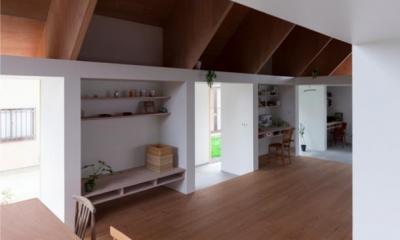 『コヤノスミカ』趣味を楽しめる空間、ゆったり寛げる空間 (リビング・奥様の趣味スペース)