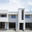 小林義仁の住宅事例「『春日居の家』玄関ホールを中心に家族をつなぐ住まい」