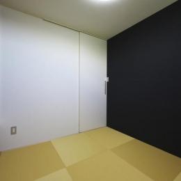 M邸・スタイリッシュな和の家 (シンプルモダンな和室)