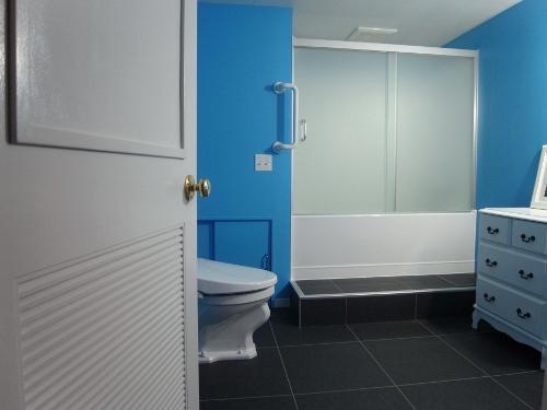 パリのアパルトマンの写真 バストイレ・洗面所
