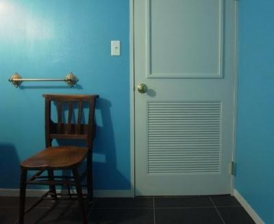 洗面所ドア(バストイレ・洗面所) (パリのアパルトマン)