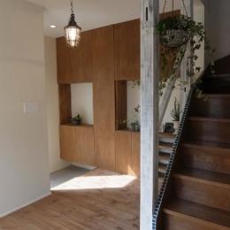 リノベーション・リフォーム会社 ROKUSAの住宅事例「造作家具&プチアンティーク」