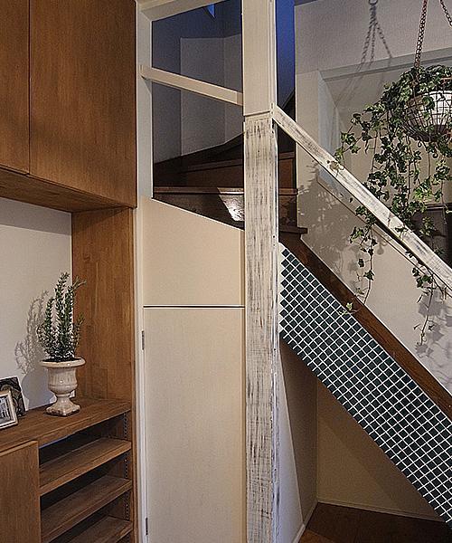 造作家具&プチアンティークの部屋 階段(アンティーク)