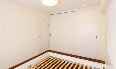 ベッドルーム|I邸・お洒落な大人の空間