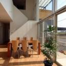 『立体格子の家』光の集まる家