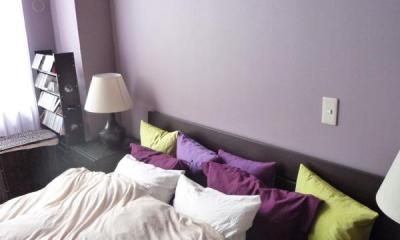 グリーン&洋書LIKEな空間 (ベッドルーム2)