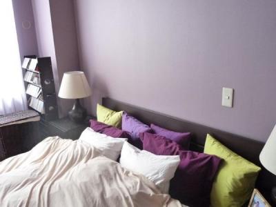 ベッドルーム2 (グリーン&洋書LIKEな空間)